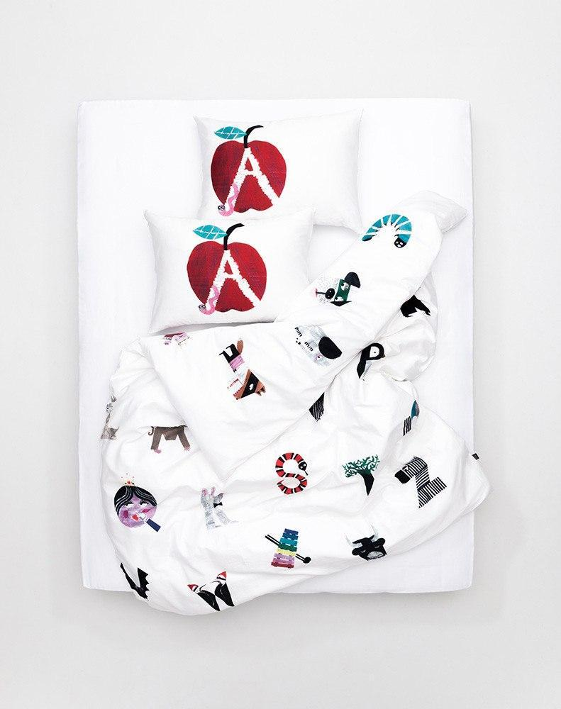 ZigZagZurich Kids - ZigZagZurich Kids - Alphabet City Duvet Covers And Pillows By Natalie Born