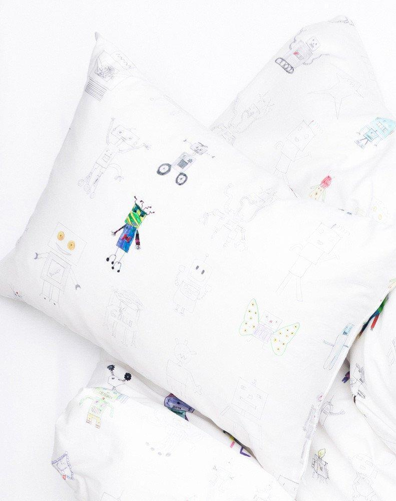 ZigZagZurich Kids - ZigZagZurich Kids - Robot Land Duvet Covers And Pillows By Class 1-3 Havelland School