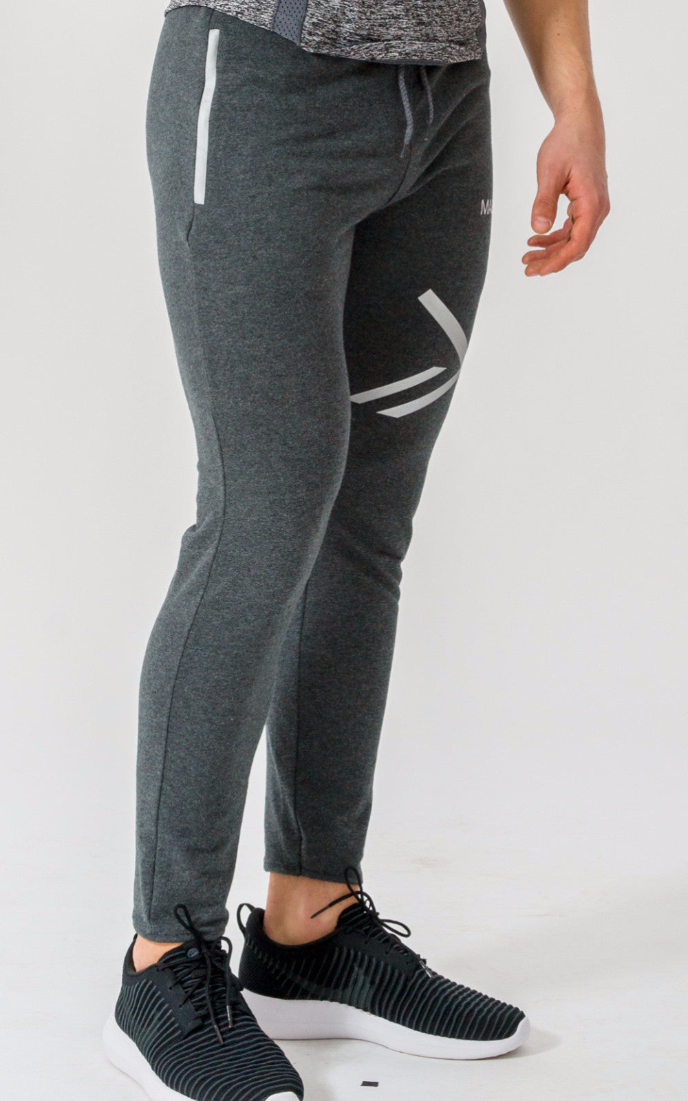 Maze Reflect Tapered Bottoms - Dark Grey - Maze