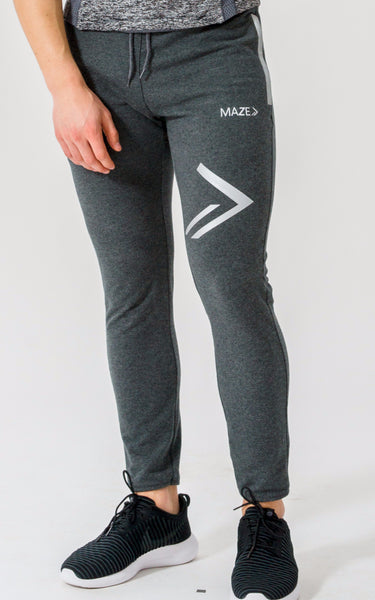 Maze Duo Tapered Bottoms - Dark Grey - Maze