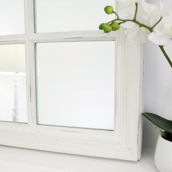 The classic detailing of this mirrors frame.