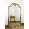 "Ornate Gold Full Length Floor Mirror Pelazzo 73"" x 41"""