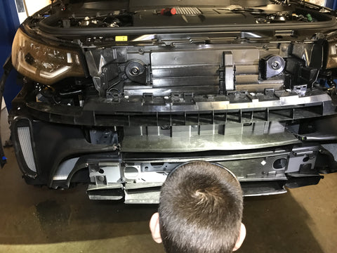 2017 Land Rover Discovery Front Winch Bumper