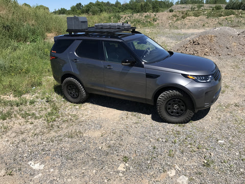 2017 Land Rover Discovery Off Road Roof Rack