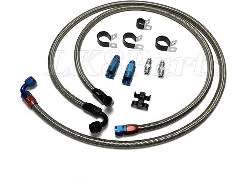 Discovery 2 stainless steel transmission line kit