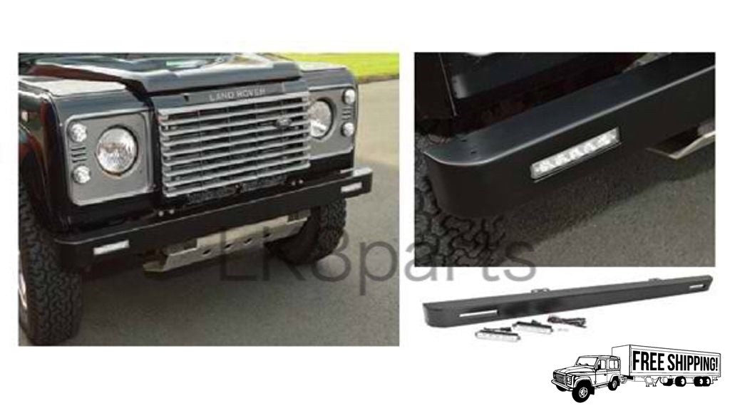 Front Bumper with Integrated LED Light