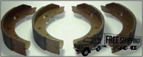 REAR BRAKE PAD SHOE SET