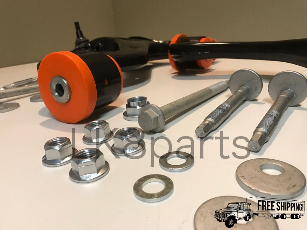 RANGE ROVER SPORT FRONT POLYBUSH LOWER CONTROL ARM KIT W/ HARDWARE
