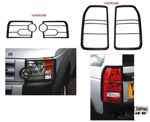 FRONT & REAR LIGHT LAMP GUARD KIT