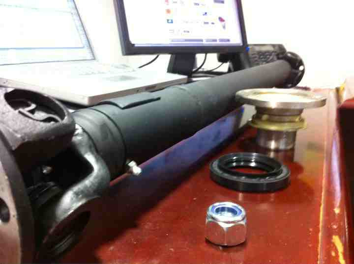Lucky8 D1/D2 rear drive shaft conversion kit