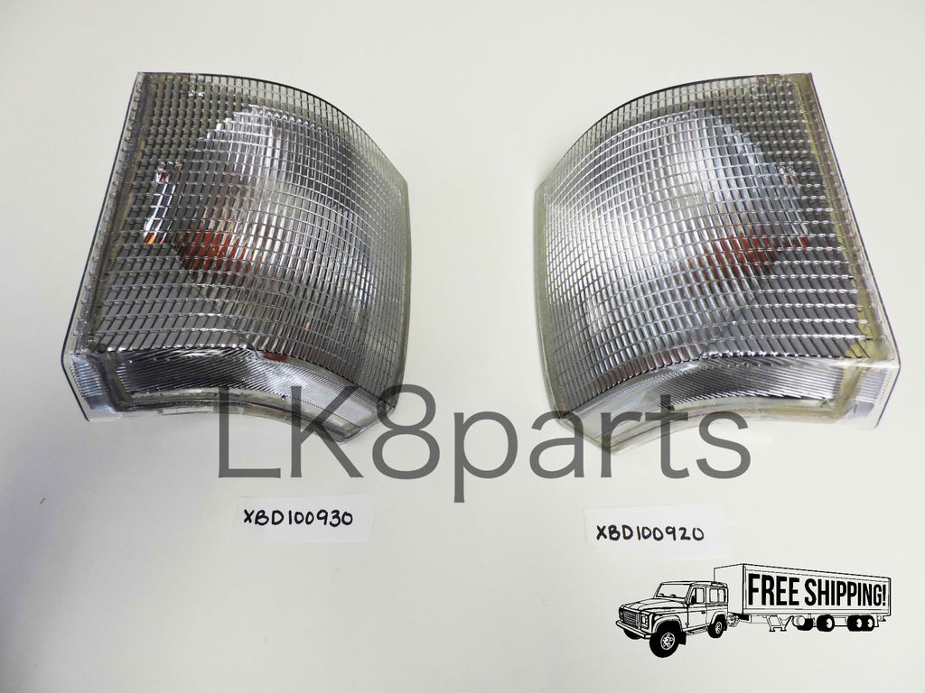 FRONT TURN SIGNAL LIGHT LAMP LH RH SET