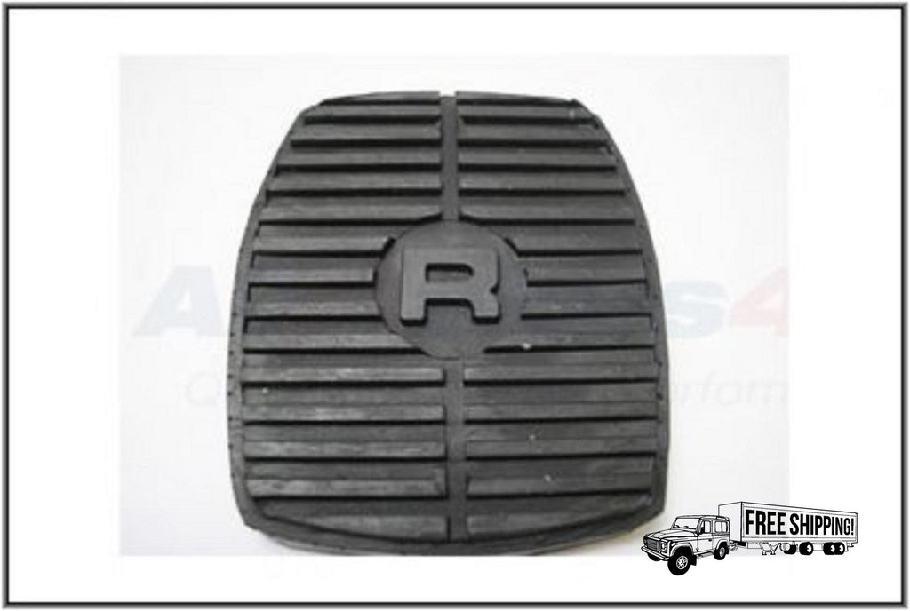 LAND ROVER BRAKE OR CLUTCH RUBBER PEDAL PAD x1