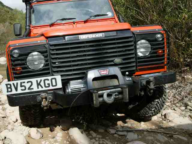 Mantec Defender Winch Bumper