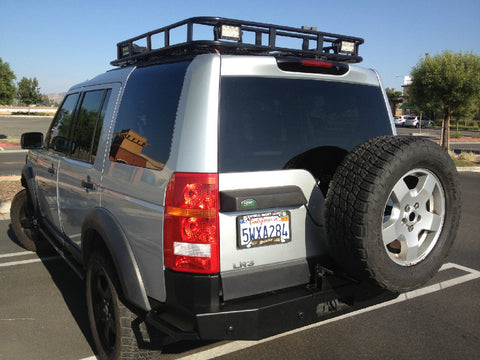 LR3 Rear Bumper with Tire Carrier
