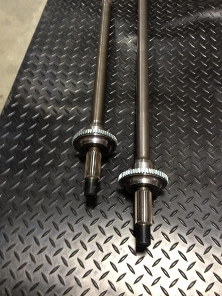 Ashcroft P38 Rear HD 1/2 shaft