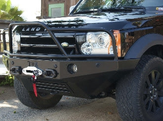 Tactical Rovers Lr3 Front Winch Bumper Lk8 Parts