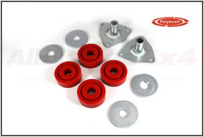 Polybush Defender, Rear Radius Arm to Chassis Bushing Kit