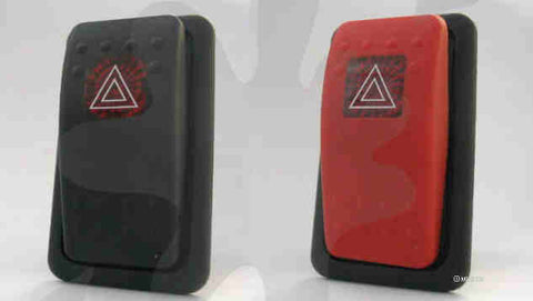 MUD UK Defender Compatible Hazard Warning Switch