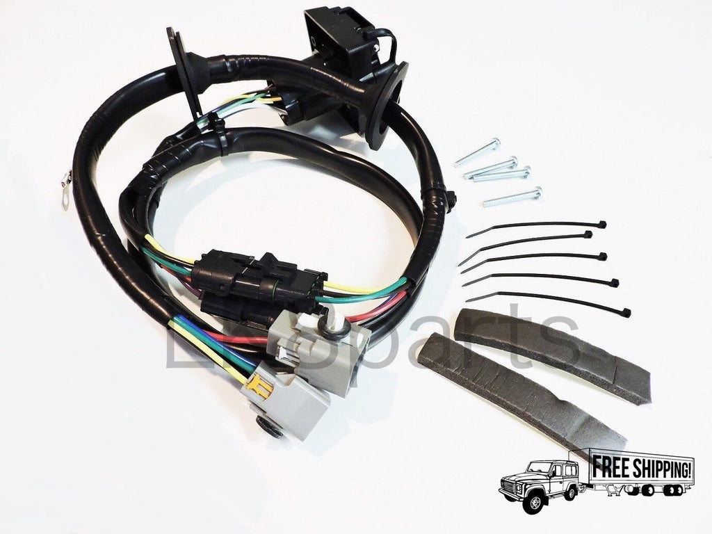 TOW HITCH TRAILER WIRING WIRE HARNESS KIT