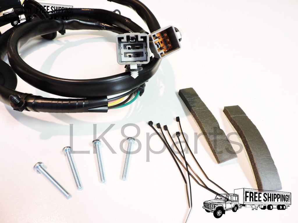tow hitch trailer wiring wire harness kit \u2013 lk8 parts Trailer Light Wiring Color Code