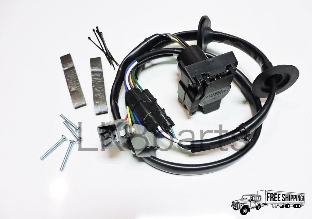 tow hitch trailer wiring wire harness kit lk8 parts accessories rh lucky8llc com 2011 land rover lr4 trailer wiring harness 2013 lr4 trailer wiring harness