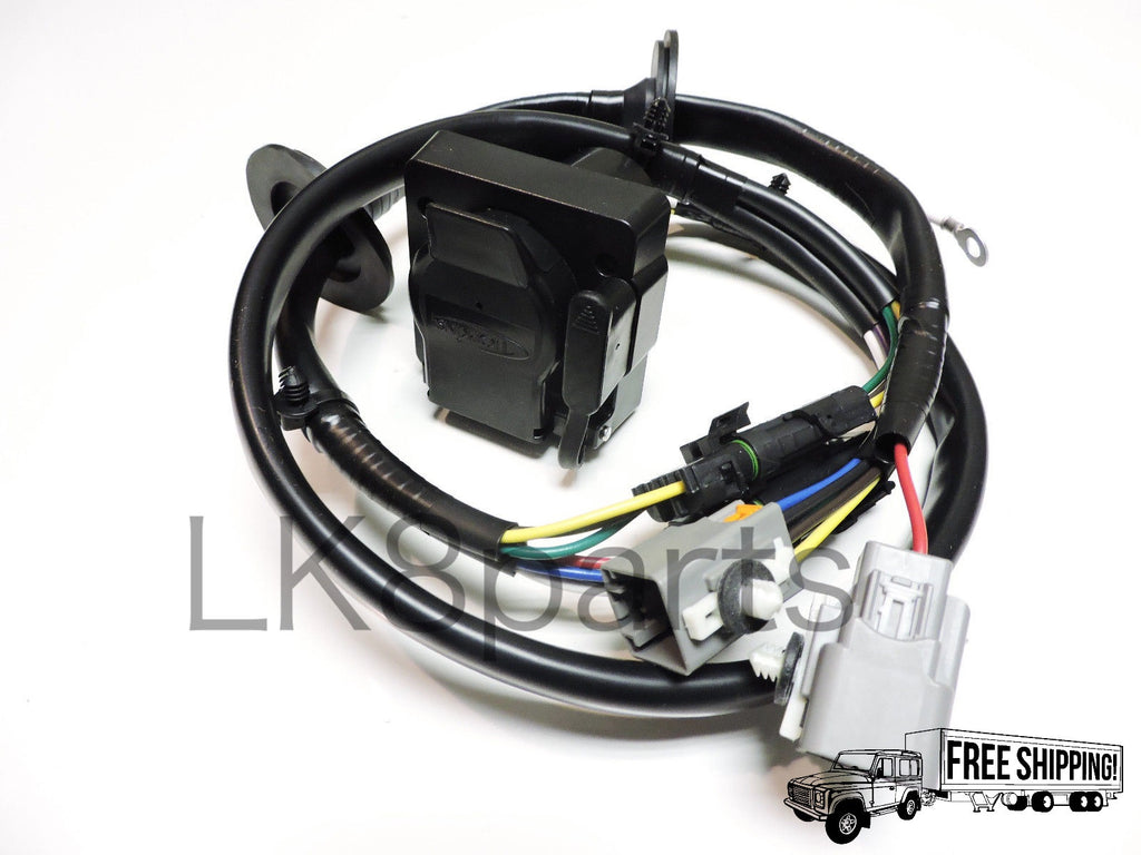 Tow Wiring Harness Kits Electrical Diagrams 19942002 Honda Accord Curt T Connector 55336 Hitch Trailer Wire Kit Lk8 Parts Accessories