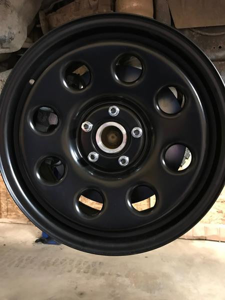 "18x8"" Steel Wheel Set of 4"