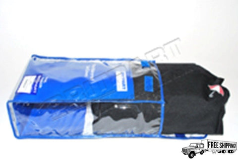 Black  Waterproof Rear Seat Cover Set