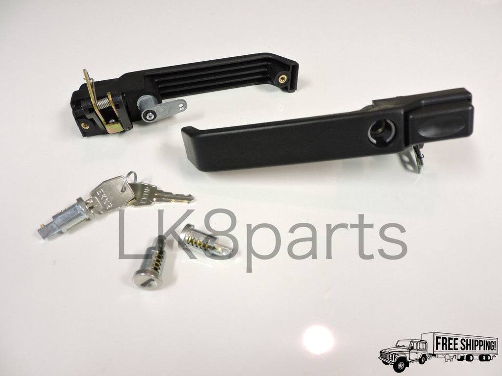 FRONT DOOR HANDLE RH LH with LOCK BARREL SET KIT