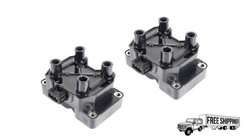 IGNITION COIL SET x2 PAIR