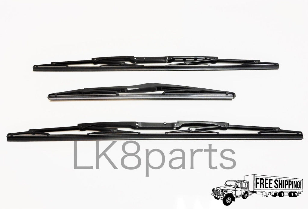 Front & Rear Wiper Blades SET