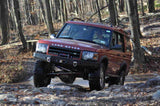 Terrafirma Discovery 2 Black Coated Winch Bumper