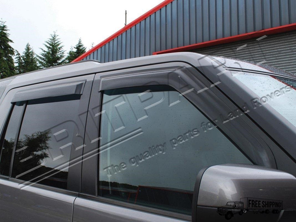 FRONT & REAR WIND DEFLECTOR SET 4