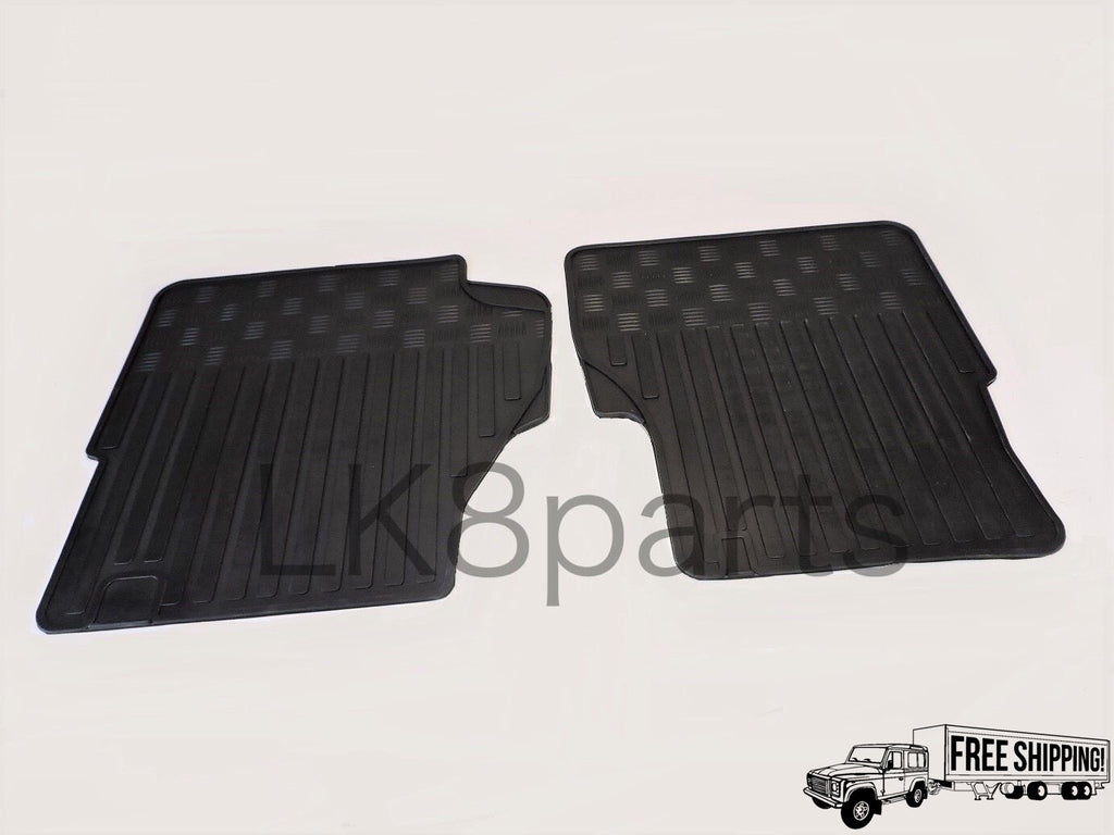 FRONT FLOOR RUBBER MAT SET