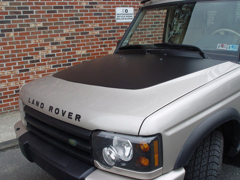 Discovery 2 Hood Blackout