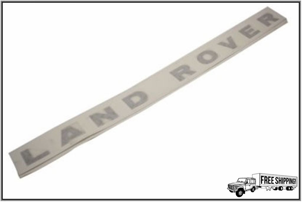 "HOOD DECAL STICKER ""LAND ROVER"""