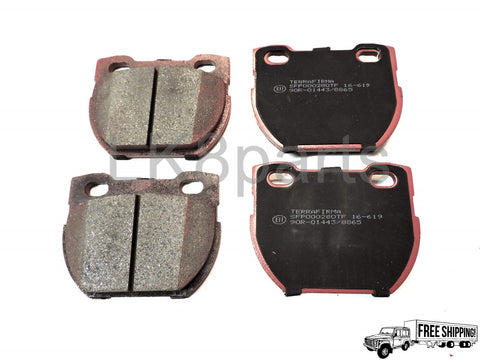 TERRAFIRMA PREMIUM CERAMIC REAR BRAKE PAD