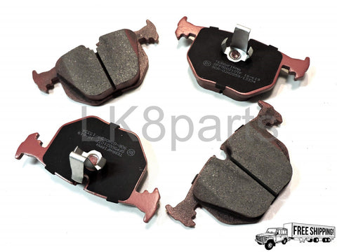 TERRAFIRMA PREMIUM CERAMIC REAR BRAKE PADS SET