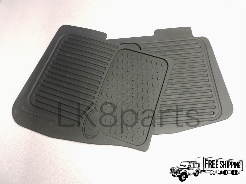 Rubber mats discovery 4 -  Genuine Land Rover Discovery 2 Front And Rear Rubber Floor Mats