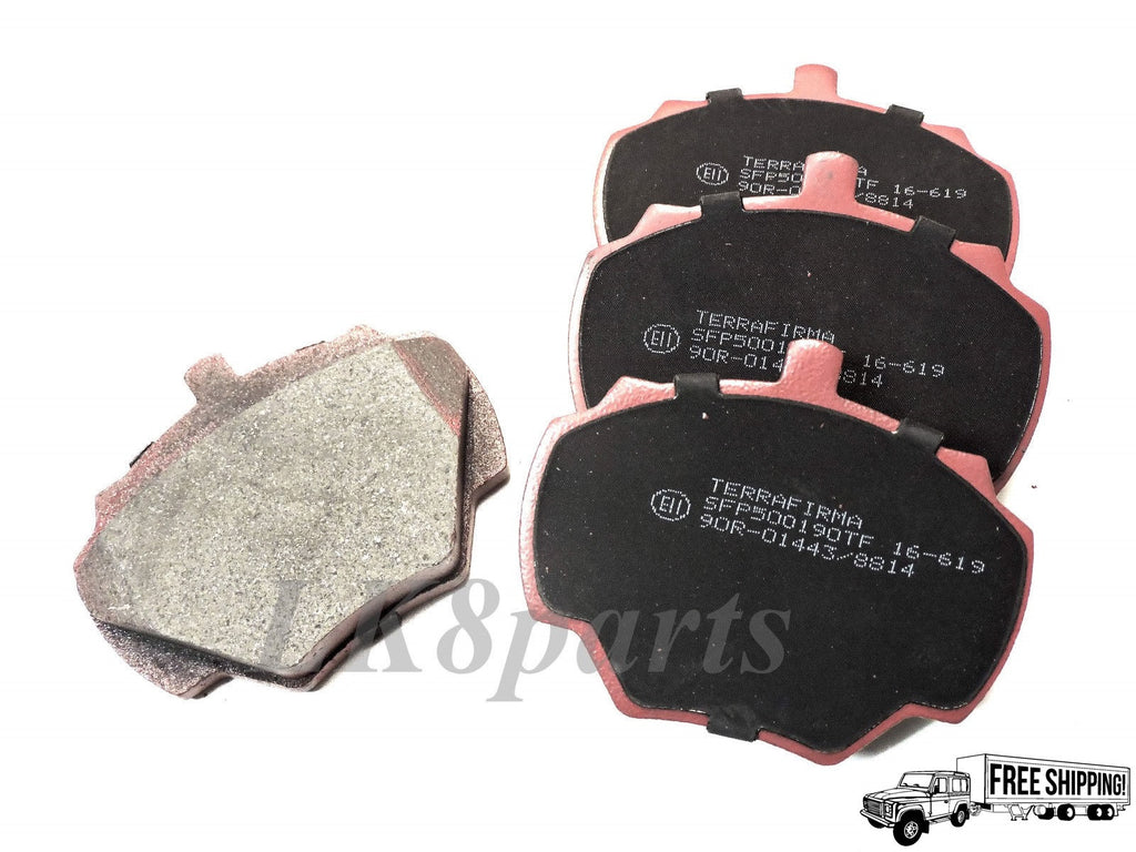 CERAMIC PREMIUM REAR BRAKE PADS