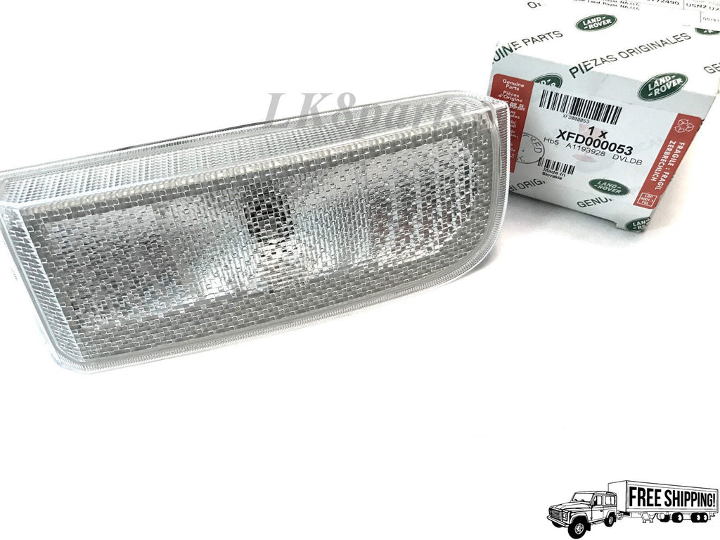 REAR REVERSE LAMP LIGHT LEFT