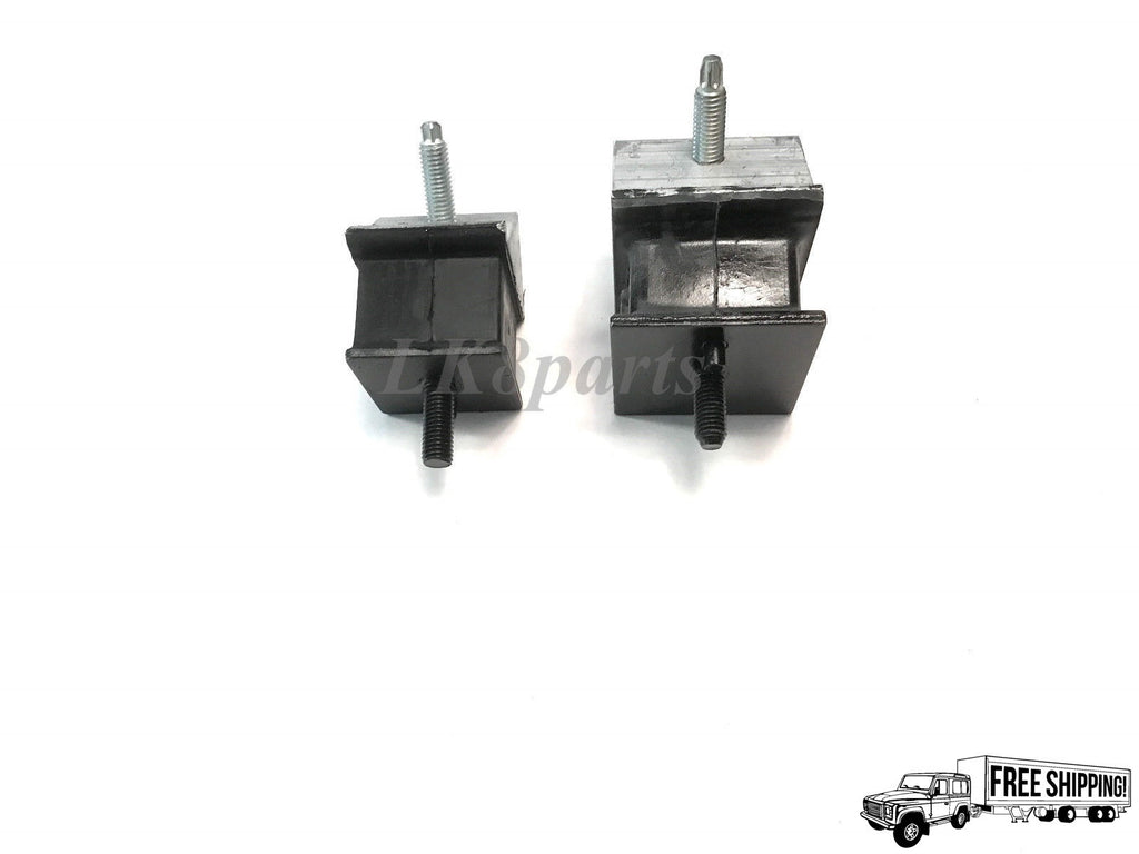 TRANSMISSION RUBBER MOUNT SET OF TWO LH & RH