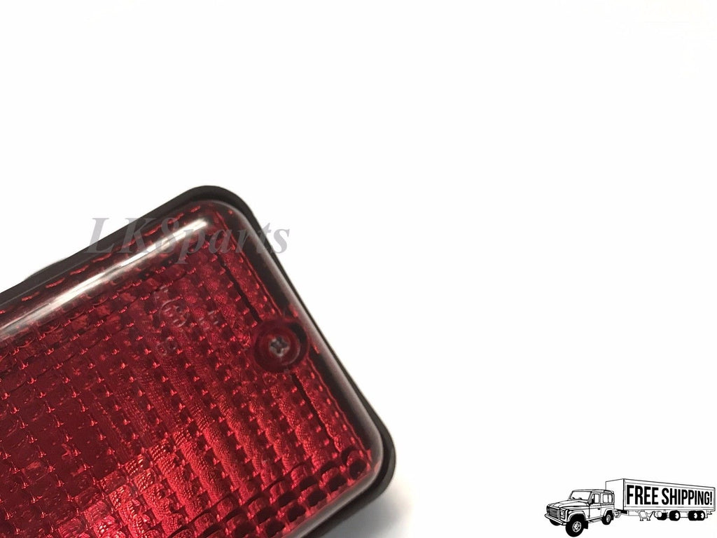 Rear Rectangular Fog Lamp Light