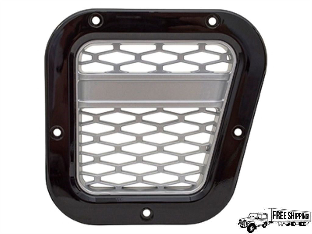XS AIR INTAKE GRILLE BLACK WITH SOLVER MESH RIGHT