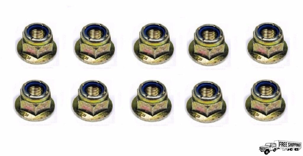Track Rod End Nuts Set of 10
