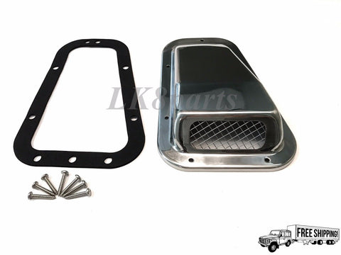 Wing Top Air Intake Grille Stainless Steel RH