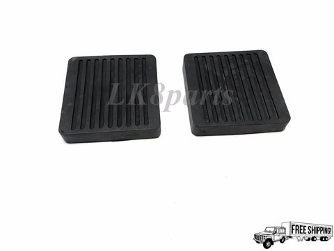 Clutch & Brake Pedal Pad Set x2