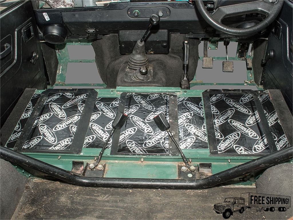 DYNAMAT XTREME SOUND DEADENING SEAT BOX KIT