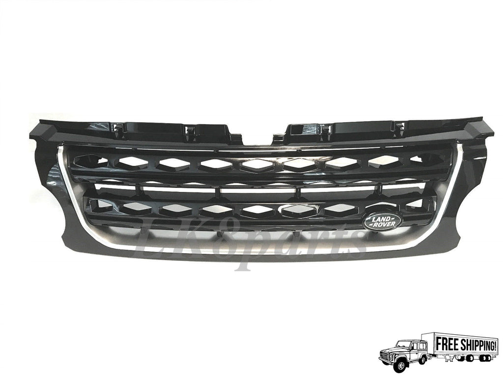 Genuine Front Grille - Gloss Black