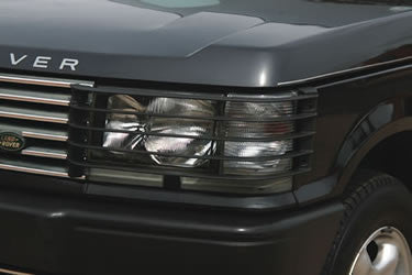 Black Front Light Guards Pair